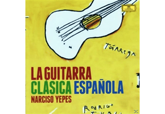 Narciso Yepes - La Guitarra Clásica Espanola - (CD)