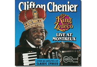 Clifton Chenier - The King Of Zydeco Live At Montreux,Switzerland - (CD)