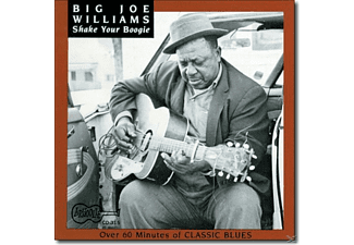 Big Joe Williams - Shake Your Boogie - (CD)