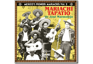 MAR. TAPATIO J. MAMOLEJO - Mexico's Pioneer Mariachis-Vol.2 - (CD)
