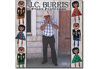 J.C. Burris - Blues Professor - (CD)