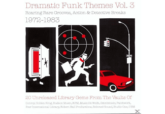 VARIOUS - Dramatic Funk Themes # 3 - (Vinyl)