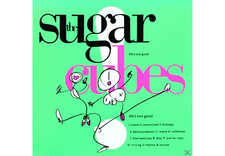 The Sugarcubes Life's Too Good (Neon Green Limited Lp) Βινύλιο