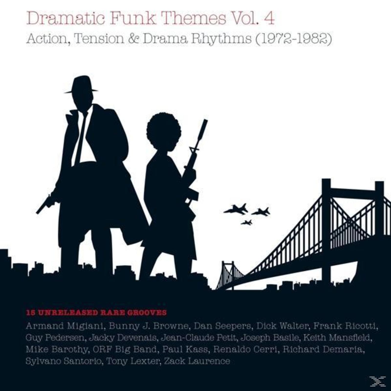 VARIOUS - Dramatic Funk Themes # 4 [Vinyl]