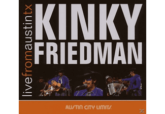 Kinky Friedman - Live From Austin Tx [CD]