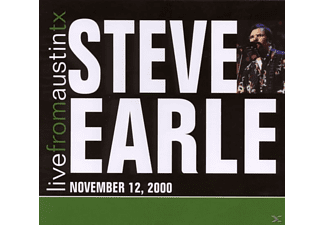 Steve Earle - Live From Austin Tx'00 - (CD)