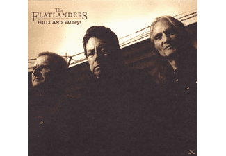 The Flatlanders - Hills And Valleys - (CD)