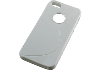 AGM 25986 Backcover Apple iPhone 5, iPhone 5s Kunststoff Weiß