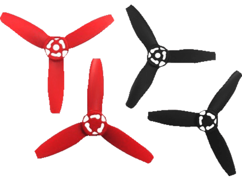 PARROT Propellers for Bebop Drone Red/ Black - (PF070078AA) photo   video   offline drones   τηλεκατευθυνόμενα αξεσουάρ hobby   φωτογραφία d