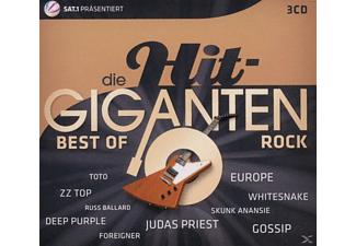 VARIOUS - Die Hit Giganten-Best Of Rock [CD]