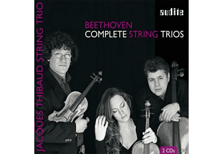 Jaques String Trio Thibaud - COMPLETE STRING TRIOS [CD]