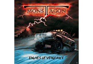 Monstagon - Engines Of Vengeance - (CD)