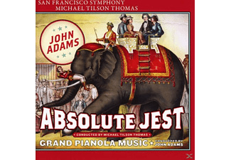 San Francisco Symphony Orchestra, Michael Tilson Thomas, VARIOUS - Absolute Jest/Grand Pianola Music - (SACD Hybrid)