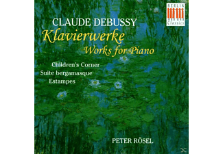 Peter Rösel - Childrens Corner/Suite Bergamasque - (CD)