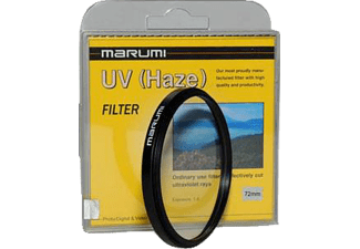 MARUMI 72 mm Low UV Lens Filtresi Siyah