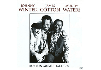 Johnny With Muddy Waters & James Cotton Winter - Wbcn-Fm Boston Music Hall 26-02-77 - (Vinyl)