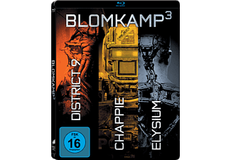Chappie/District 9/Elysium (Steelbook) - (Blu-ray)