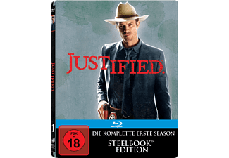 Justified - Die komplette Staffel 1 (Steelbook) - (Blu-ray)