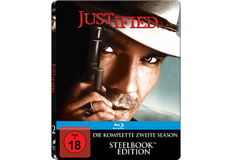 Justified - Die komplette Staffel 2 (Steelbook) [Blu-ray]