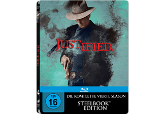 Justified - Die komplette Staffel 4 (Steelbook) - (Blu-ray)
