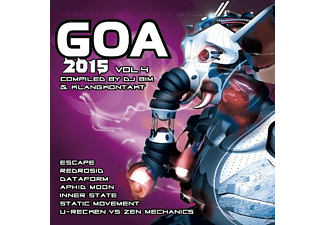 VARIOUS - Goa 2015 Vol.4 - (CD)