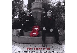 Rutherford James, Rutherford,James/Asti,Eugene - Most Grand to Die - (SACD Hybrid)