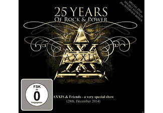 Axxis - 25 Years Of Rock And Power - (CD + DVD Video)
