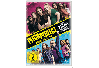 Pitch Perfect 1 & 2 - (DVD)
