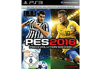 PES 2016 - Pro Evolution Soccer 2016 (Day 1 Edition) - PlayStation 3