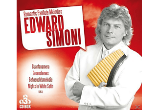 Simoni Edward - Romantic Panflute Melodies - (CD)