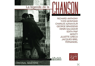 VARIOUS - La Legende De La Chanson [CD]
