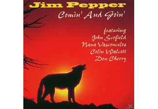 Jim Pepper - Comin And Goin [CD]