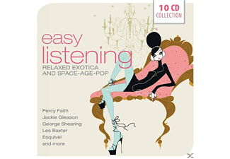 VARIOUS - Easy Listening-Relaxed Exotica And Space-Age-Pop [CD]