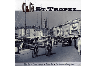 VARIOUS - Cafe St.Tropez - (CD)