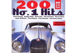 VARIOUS - 200 No.1 Hits [CD]