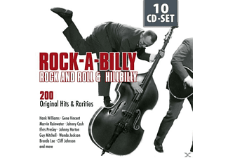 VARIOUS - Rock-A-Billy, Rock And Roll & Hillibilly [CD]