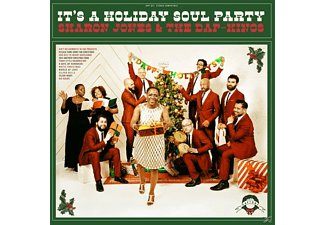 Sharon & The Dap-kings Jones - It's A Holiday Soul Party! [CD]