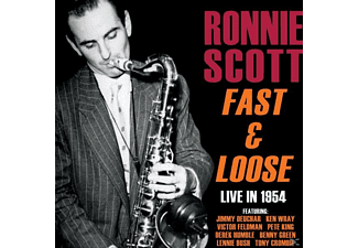 Ronnie Scott - Fast And Loose - Live in 1954 - (CD)