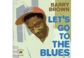 Barry Brown - Lets Go To The Blues - (CD)