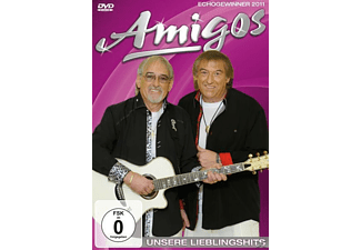 Die Amigos - UNSERE LIEBLINGSHITS - (DVD)