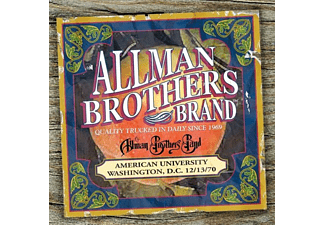 The Allman Brothers Band - American University 12/13/70 - (CD)