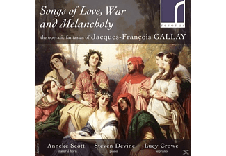Anneke Scott, Steven Devine, Lucy Crowe - Songs Of Love, War And Melancholy [CD]