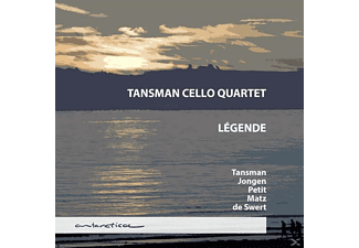 Tansman Cello Quartet - Légende - (CD)