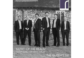 The Queen's Six - F Tudor Music For Men's Voices - (CD)