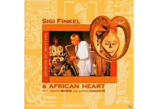 Sigi & African Heart Finkel - Spirits Of Rhythm - (CD)