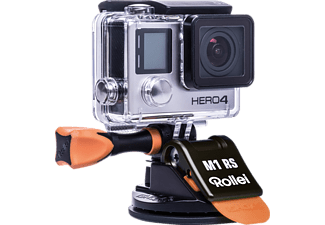 ROLLEI Actioncam Suction Cup M1 Mini Zwart