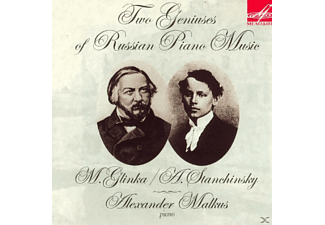 Malkus Alexander, Grigory Feigin, Valentin Feigin - Two Geniuses of Russian Piano Music - (CD)