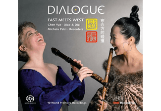 Chen Yue - Dialogue-East Meets West - (CD)