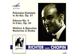 Sviatoslav Richter - Richter plays Chopin XXXX - (CD)