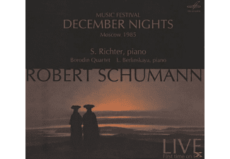 Borodin Quartet, Sviatoslav Richter, Berlinskaya, Richter/Berlinskaya/Borodin Quartet - December Nights,Konzert 1985 - (CD)